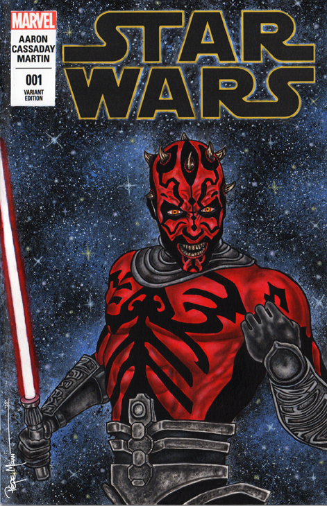 Darth Maul Painted Setch Cover01AB