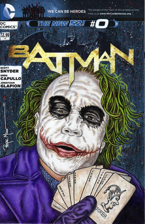 Joker Cards Sketch Cover01A