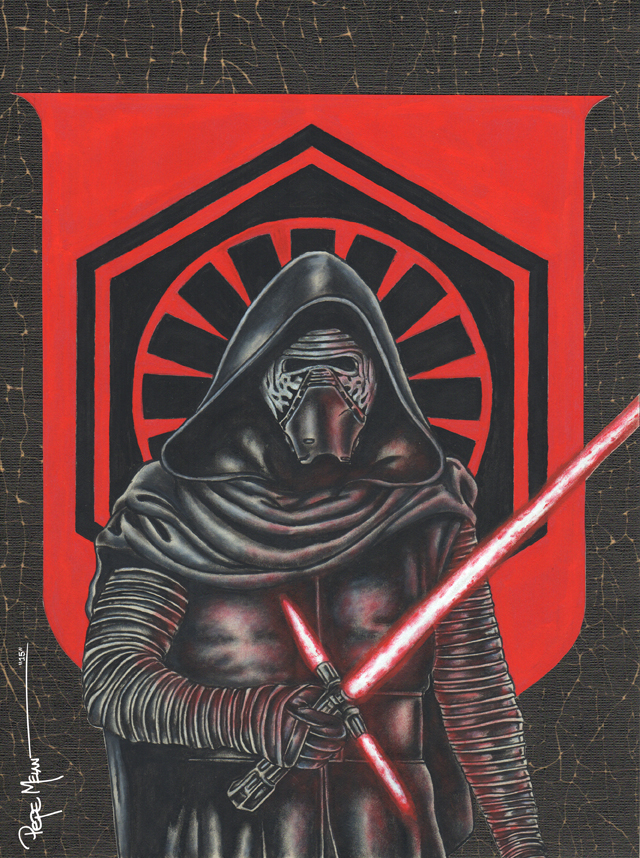 KYLO REN PAINTING01A