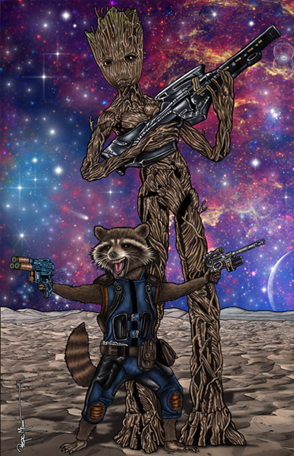 Rocket-Teenage-Groot