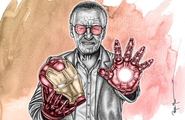 Stan-Lee-Tribute-Art