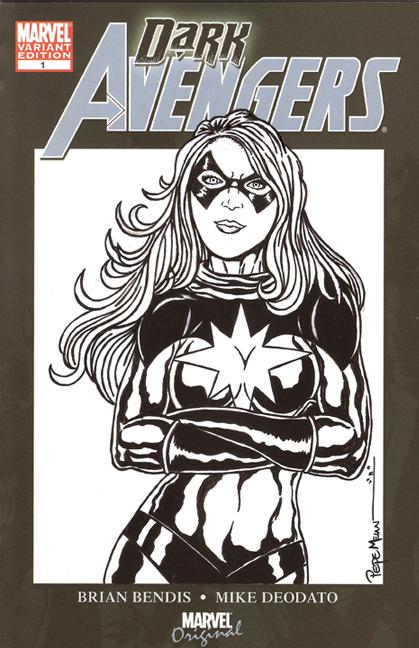 Dark Avengers MS Marvel