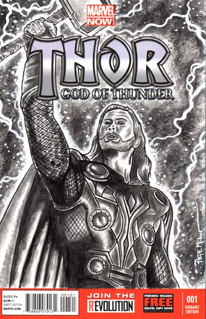 Thor B&W