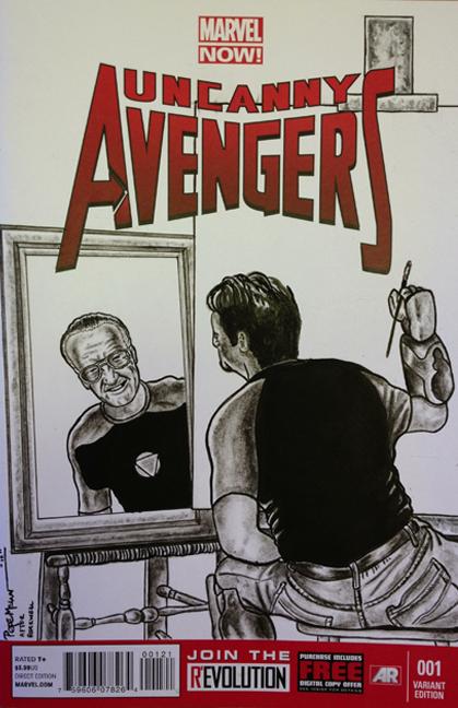 Uncanny Avengers Stan Lee