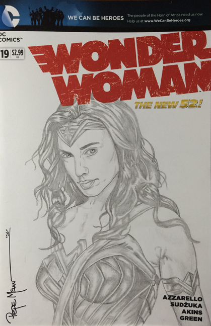 Wonder Woman Pencils