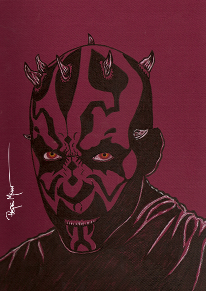 Darth Maul Toned