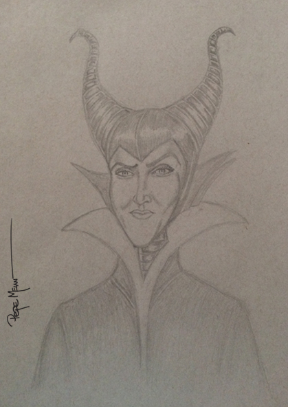 Maleficent Toned