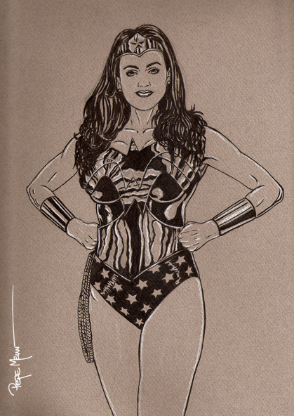 Wonder Woman Toned
