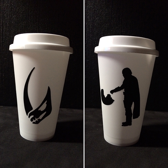 Mando Coffee Cup