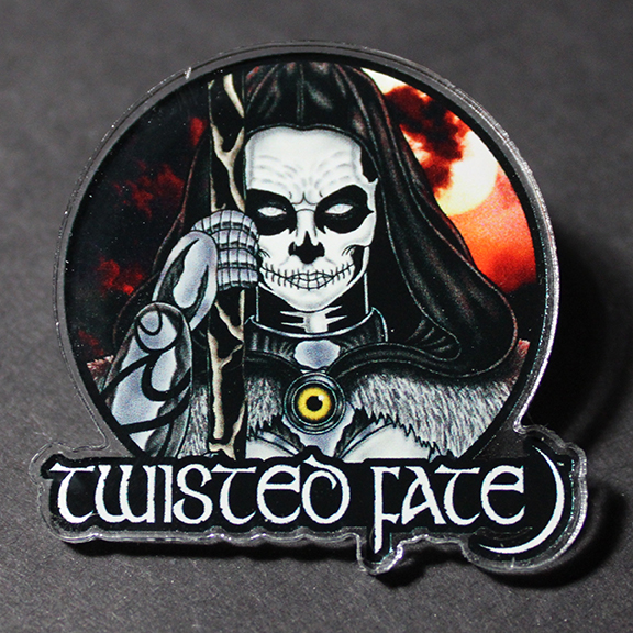 Twisted Fate Issue 2 Pin